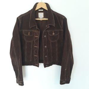 Old Navy Brown Corduroy Jacket